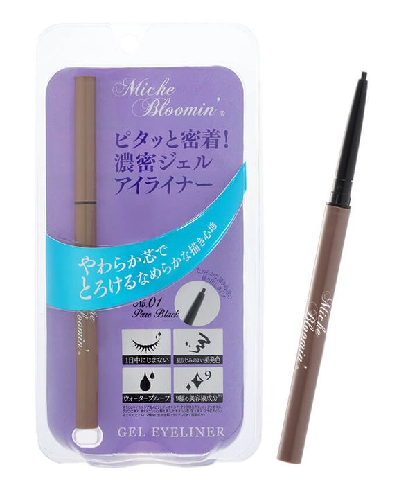 纱荣子自创品牌Miche Bloomin自然凝胶眼线笔-详情-图片1