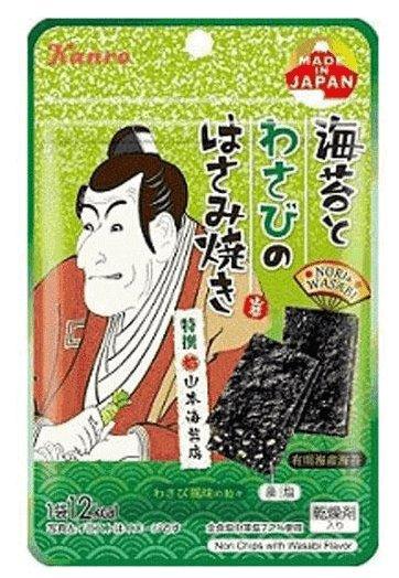 Kanro 芥末海苔4g 一袋/六袋-详情-图片1