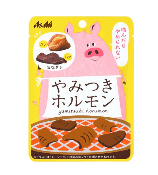 Asahi roasted pig intestine / pig delicious snacks in the Office 17g 1bag/6bags-detail-image1