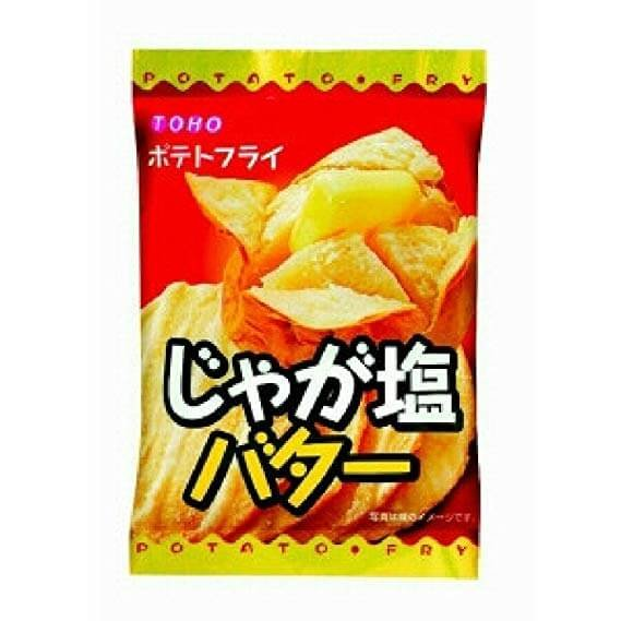 Toho-seika confectionery fries potatoes salt butter 11g 1 bags / 20 bags-detail-image1