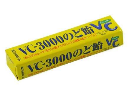 NOBEL VC-3000维生素润喉糖 柠檬味90g 一个装/十个装-详情-图片1