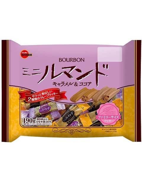 BOURBON布爾本焦糖/可可千層薄脆酥 38根入D-詳情-圖片1