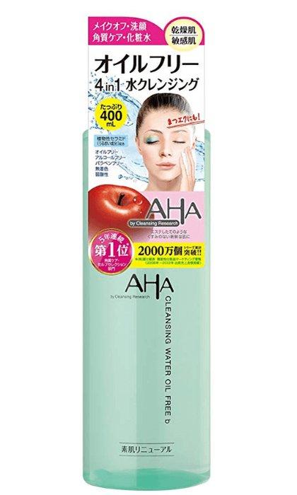 AHA果酸柔肤四合一果酸柔肤温和卸妆洁肤水400ml-详情-图片1