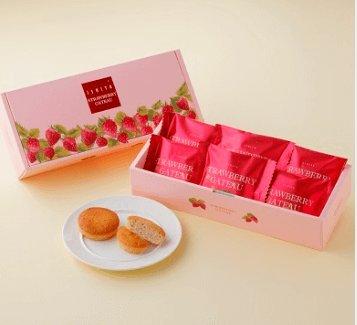 白色恋人春季限定草莓蛋糕6个入-详情-图片1