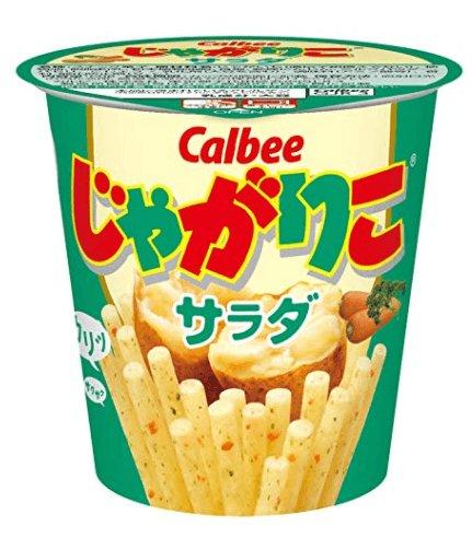 卡樂比calbee jagarico杯裝薯條52g-詳情-圖片1