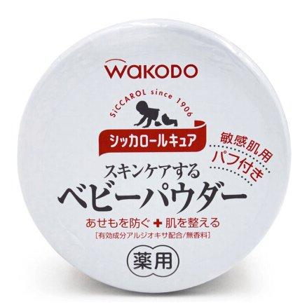 Baby Japan Wakodo Baby Powder Siccarol  140g-detail-image1