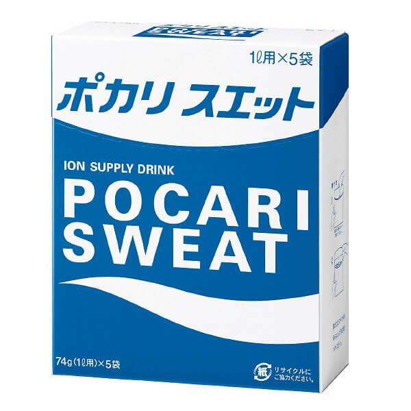 大冢制药 pocari sweat宝矿力水特粉末冲剂一升用x5包-详情-图片1