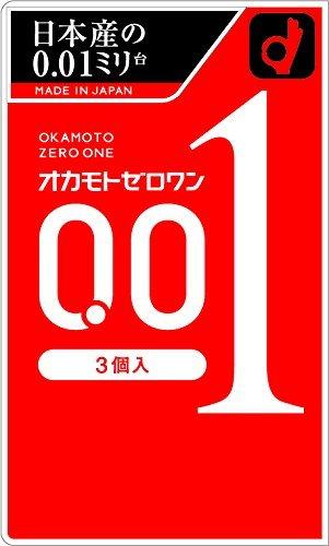 岡本Okamoto 超薄0.01安全套避孕套3個裝-詳情-圖片1