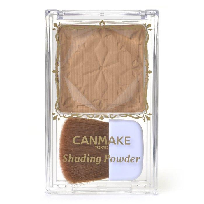 CANMAKE 巧克力 修容粉 陰影粉 修顏 小臉效果-詳情-圖片1