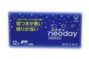 大正 neoday 12錠 助睡眠-详情-图片1