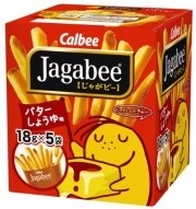 Calbee Jagabee Square box fries 18g * 5 bags-detail-image1