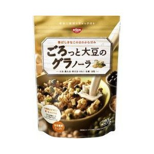 Nissin Cisco Rough Sprinkle Granola Soybean 200 g D-detail-image1
