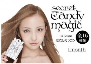 SECRET CANDY MAGIC 1month No degree color - contact lens 16 colors two piece-detail-image1