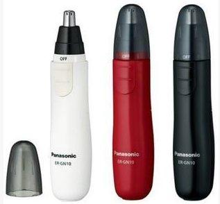 Panasonic松下 ER-GN10鼻毛修剪器 白红黑三色选-详情-图片1