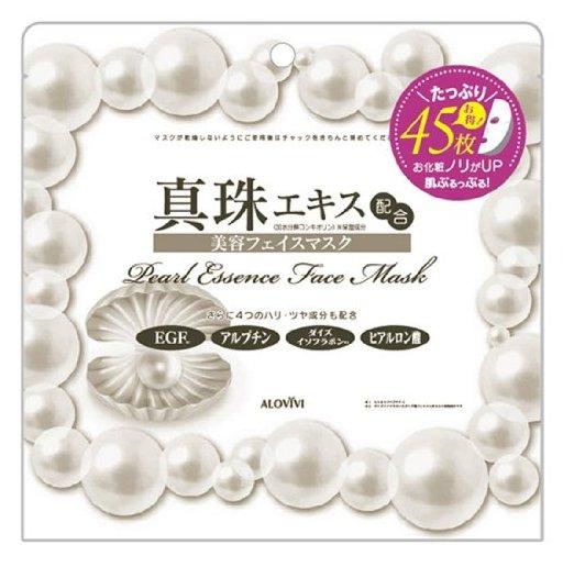 Alovivi 珍珠保湿面膜45枚装 H-详情-图片1