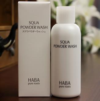 HABA無添加鲨烷美肌潔顏粉80g泡沫豐富深層清潔弱酸性潔面-詳情-圖片1