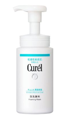 Curel Foam Facial Wash 150ml-detail-image1