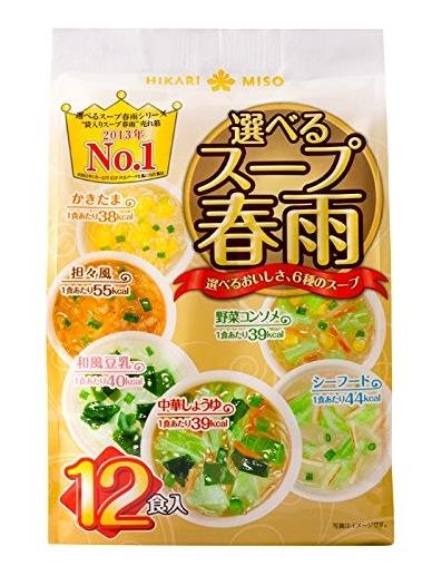 Two Hikari Miso choose soup vermicelli 12 meals-detail-image1