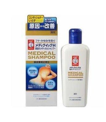 Rohto Mentholatum Medi-Quick H Scalp Medical Shampoo-detail-image1