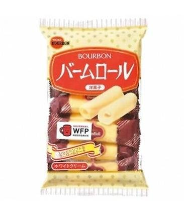 布尔本Bourbon洋菓子瑞士卷奶油软蛋卷 8枚入D-详情-图片1