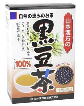 山本汉方 黑豆茶100% 生发 补肾益脾 纤体通便10gX30H-详情-图片1
