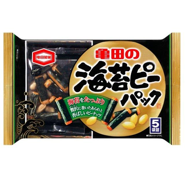 亀田製菓花生海苔卷仙貝4袋入89gD-詳情-圖片1