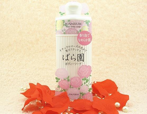 ROSARIUM rose body soap  300ml-detail-image1