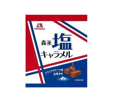 MORINAGA 森永 岩鹽 焦糖軟糖 92g袋裝D-詳情-圖片1