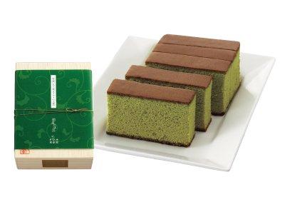 長崎和泉屋 特選五三燒 舶來の匠 抹茶玉露蛋糕-詳情-圖片1