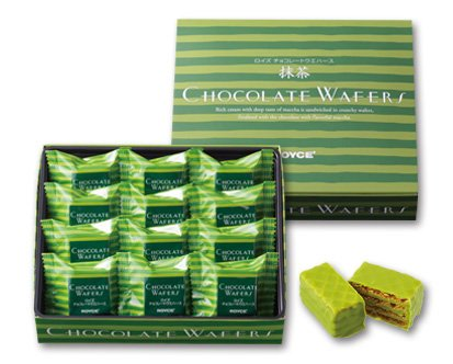 ROYCE Matcha Chocolate waffles 12pcs-detail-image1