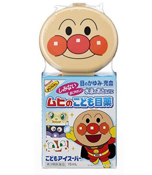 池田模範堂 MUHI面包超人儿童眼药水15ml-详情-图片1
