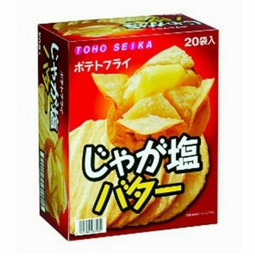 Dongfeng confectionery fries potatoes salt butter 11gX20 bags-detail-image1