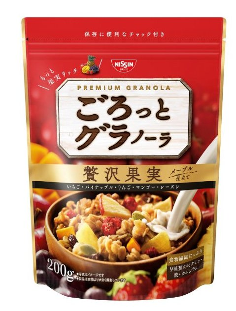 新包裝 日清 9種維生素鈣鐵水果營養麥片-詳情-圖片1