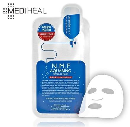 美迪惠爾MEDIHEAL針劑水庫面膜貼 三倍補水美白保濕5枚裝-詳情-圖片1