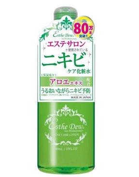 Esthe Dew 祛痘控油化妝水500ml 綠水 爽膚水補水保濕-詳情-圖片1