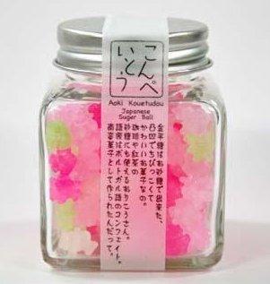 可愛的小瓶裝 金平糖 日本和風傳統食品H-詳情-圖片1