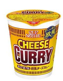 Nissin European style cheese curry cup instant noodles D-detail-image1
