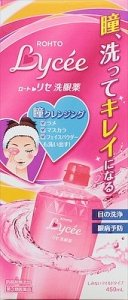 Rohto Lycee Eye Wash Liquid for Cleansing & Refresh80ml/ 450ml Eye refreshing-detail-image1