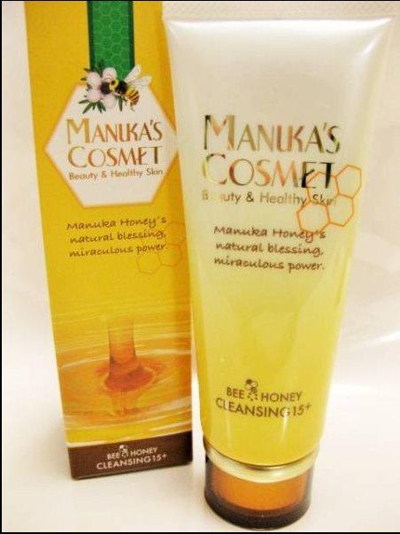 Manuka Honey 麥盧卡蜂蜜 凝膠保濕卸妝潔面乳120g H-詳情-圖片1