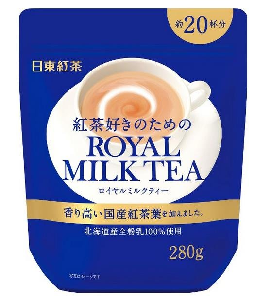 Nitto Kocha Instant Royal Milk Tea 280g-detail-image1