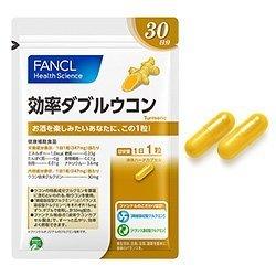 FANCL 双倍姜黄吸收 健康辅助食品 30日30粒-详情-图片1