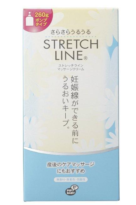 STRETCH LINE 产前妊娠纹预防 产后修复霜110/260g-详情-图片1