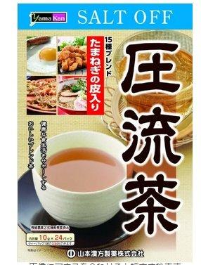 山本漢方 壓流茶 高壓群體的福音10gX24包-詳情-圖片1