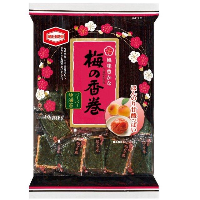 Kamedaseika Ume and Nori Senbei 19sheets-detail-image1