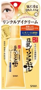 NAMERAKAHONPO Soy Milk Isoflavone Wrinkle Eye Cream 25g-detail-image1