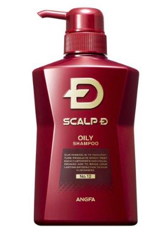 日本直邮 SCALP-D丝凯露-D 男士专用防脱控油洗发水 油性头皮-详情-图片1