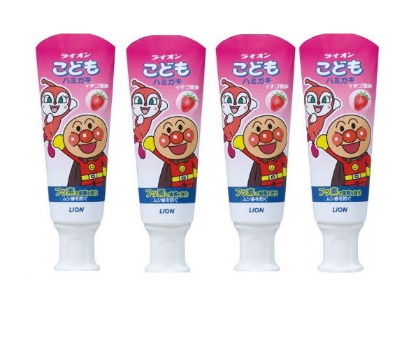 LION Child Toothpaste Strawberry Flavor-detail-image1