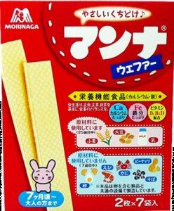 Morinaga Manna weblog fur 14 sheets (two ~ 7 bags) ~ 6 boxes-detail-image1
