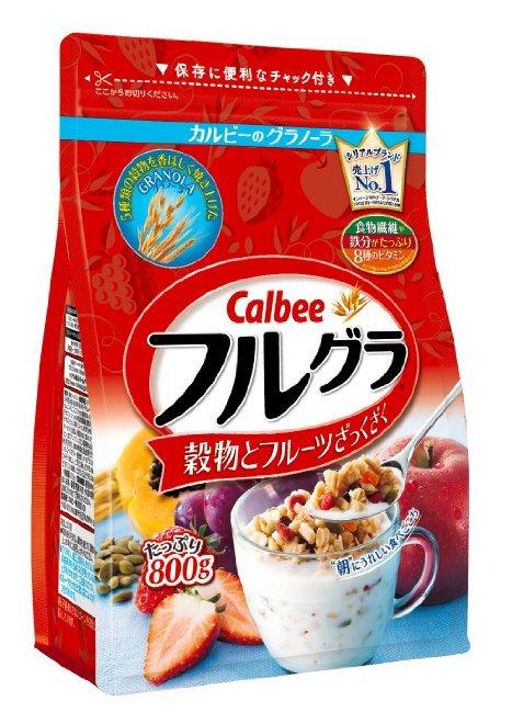 Calbee卡乐比水果颗粒果仁谷物营养麦片800g-详情-图片1
