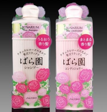 资生堂ROSARIUM玫瑰园天然玫瑰香氛洗发水/护发素300ml-详情-图片1